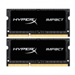 Память SO DIMM DDR3L 8Gb (2x4Gb) 2133MHz Kingston HyperX [HX321LS11IB2K2/8] -