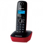 Телефон Panasonic KX-TG1611RUR DECT red