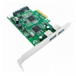 Контроллер Speed Dragon EST10A-1 PCI-E to SATA3