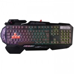 Клавиатура A4 Bloody B314 Gamer LED черный